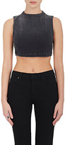 3x1 WOMEN'S CROP DENIM SHELL