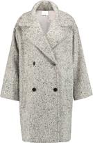 Vince Herringbone tweed coat