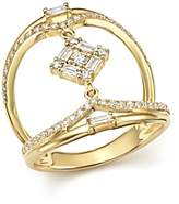 KC Designs 14K Yellow Gold Mosaic Diamond Statement Ring