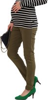 Sweet Mommy Raised Stretchy Maternity Skinny Pants NVXL