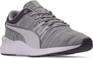 Puma Women Adela Knit Speckle Casual Sneakers from Finish Line