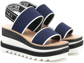 Stella McCartney Sneak-Elyse neoprene sandals