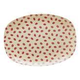 Rice Kiss Rectangular Plate