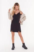 Nasty Gal Womens Dance The Night Away Strappy Mini Dress - Black - 6, Black