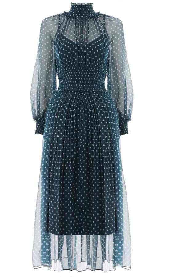 Zimmermann Moncur Shirring Dress