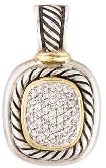 David Yurman Diamond Albion Charm Pendant