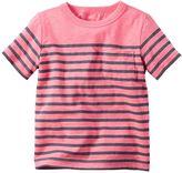 Carter's Baby Boy Striped Neon Pocket Tee