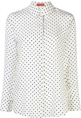 Altuzarra Polka Dot Button Up Shirt