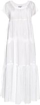 Thierry Colson Paola Dandelion embroidered cotton dress