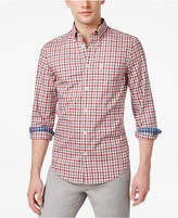 Ben Sherman Men's Button-Down Plaid Shirt