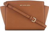 MICHAEL Michael Kors Selma medium leather messenger bag