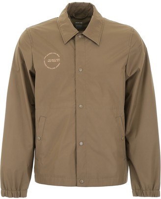 Helmut Lang Shirt Jacket With Circle Logo