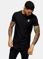 SikSilk Black Gym T-Shirt