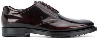 Tod's Varnished Lace-Up Shoes