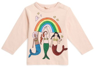 Stella McCartney Long Sleeve Mermaid Top