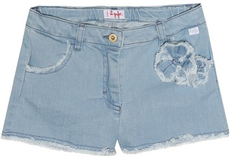 Il Gufo Denim shorts