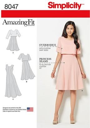 Simplicity Women's Dress Sewing Pattern, 8047