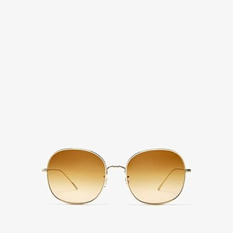 Oliver Peoples Mehrie (Soft Gold) Fashion Sunglasses