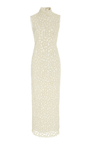 Brandon Maxwell Pearl Embroidered Wedding Dress