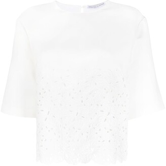 Ermanno Scervino Broderie Anglaise Blouse