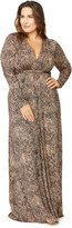 Rachel Pally Long Sleeve Full Length Caftan WL Print