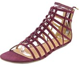 Report Lachlan Open Toe Synthetic Gladiator Sandal.
