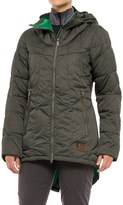 Orage Parkatype Synthetic Down Jacket - Insulated, Long Fit (For Women)