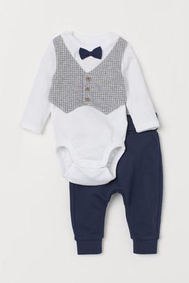 H&M 2-Piece Cotton Set
