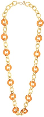 Kenneth Jay Lane Knotted Chain Necklace