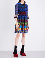 Mary Katrantzou Hemera silk-georgette mini dress