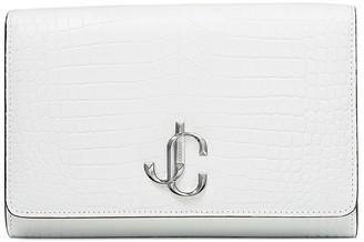 Jimmy Choo Logo Plaque Clutch Bag