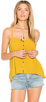 Blue Life Mohave Button Cami in Mustard. - size L (also in M,S,XS)