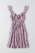 American Eagle Outfitters AE Ruffle Fit & Flare Dress