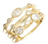 Melinda Maria Women's Stack Ring