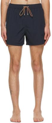 Paul Smith Navy Drawstring Swim Shorts
