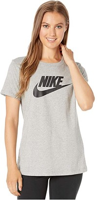 Nike Sportswear Tee Essential Icon Futura (Black/White) Women's T Shirt