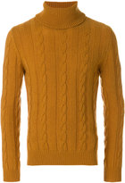 The Gigi cable-knit jumper
