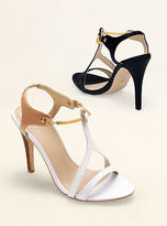 Victoria's Secret Collection Chain-accent T-strap Sandal