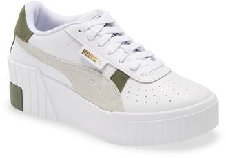 Puma Cali Wedge Mix Sneaker