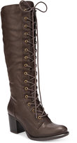 American Rag Lorah Lace-Up Boots, Only at Macy's