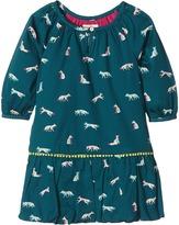 Hatley Winter Fox Pom Pom Dress (Toddler/Little Kids/Big Kids)
