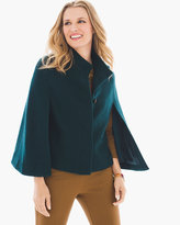 Chico's Inner Beauty Cape in Swiss Pine