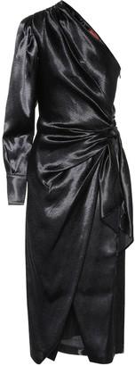 Altuzarra Chanda one-shoulder crepe dress