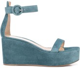 Gianvito Rossi wedge sandals