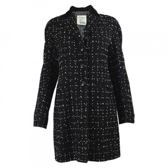 Moschino Cheap & Chic Moschino Cheap And Chic Black Cashmere Coat for Women Vintage