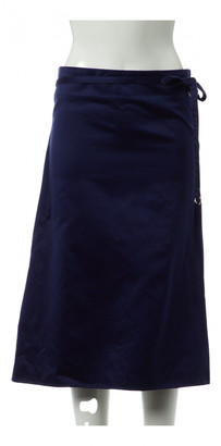 Lemaire Navy Cotton Skirts