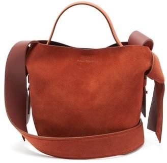 Acne Studios Musubi Mini Suede Cross-body Bag - Tan
