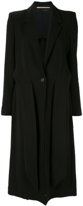 Roland Mouret Hollywell relaxed fit coat