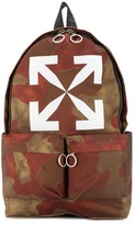 Off-White Off White camouflage-print backpack