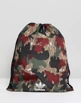 adidas X Pharrell Williams Hu Camo Drawstring Bag
